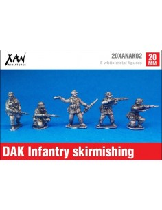 1/72 Afrika Korps Infantry skirmishing