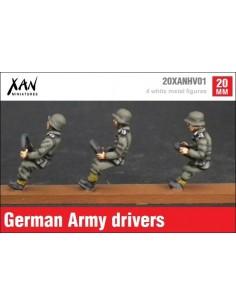 1/72 Conductores alemanes
