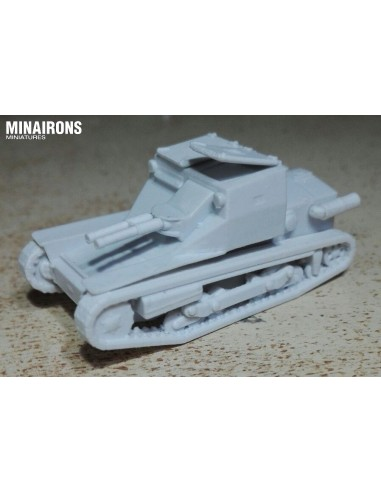 1//144 WWII Italian Carro Veloce CV-33 Light Tank Resin Kit
