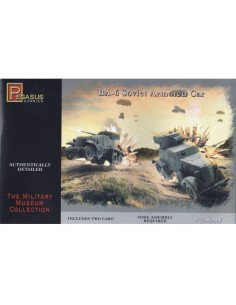1/72 BA-6 Armoured Car - Boxed set
