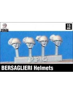 15mm Bersaglieri helmets