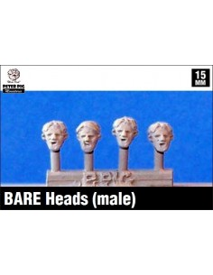 15mm Bare heads