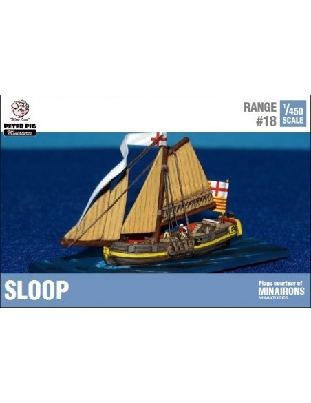 1/450 Sloop small ship