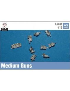 1/450 Medium guns
