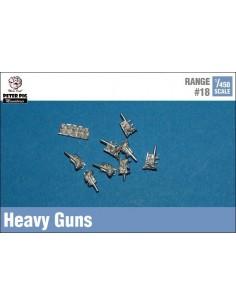 1/450 Canons pesants