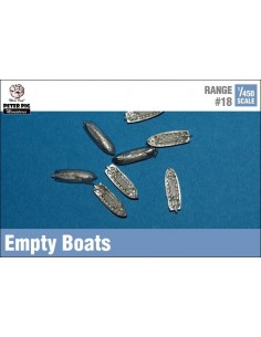 1/450 Empty rowing boats