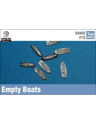1/450 Barques buides