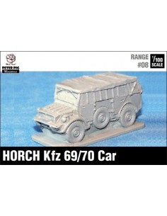 1/100 Horch staff car (canvas up)
