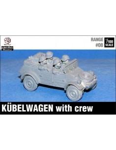 1/100 Kübelwagen with crew
