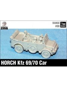 1/100 Horch staff car (canvas down)