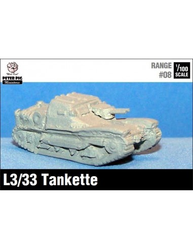 1/100 CV33 tankette