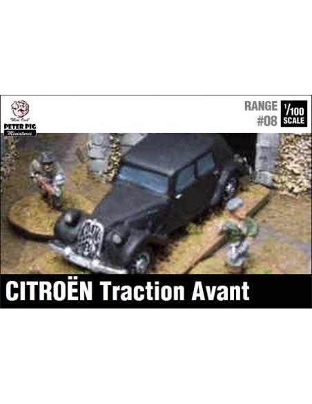 1/100 Citroën civilian car