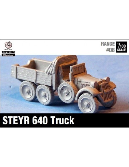 1/100 Steyr 640 truck