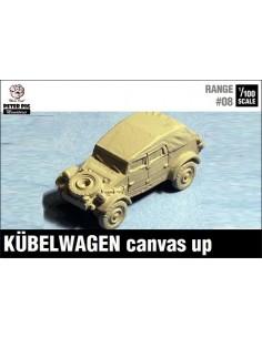 1/100 Kübelwagen canvas up