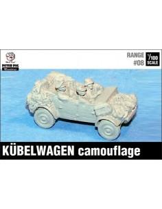 1/100 Kübelwagen camuflado