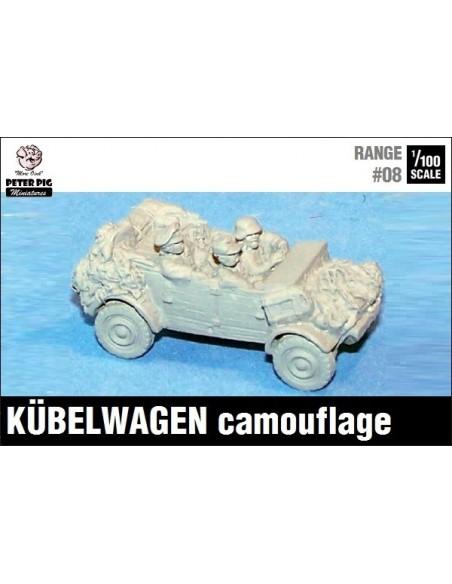 1/100 Kübelwagen camuflat