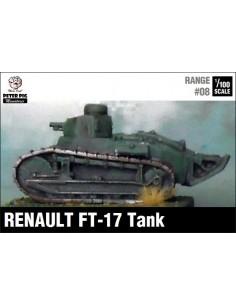 1/100 Renault FT-17 amb torreta octogonal
