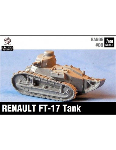 1/100 Renault FT-17 Round Turret