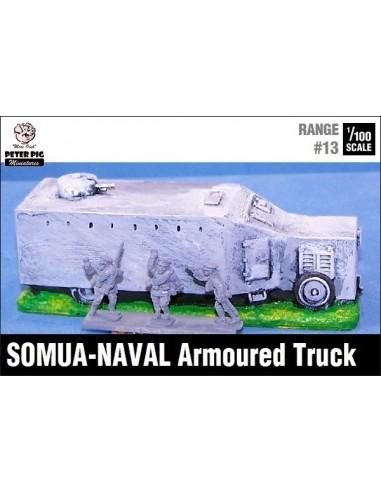 1/100 Blindado Somua-Naval
