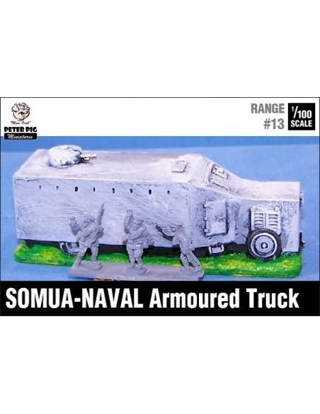 1/100 Blindat Somua-Naval