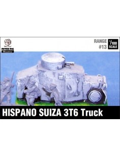 1/100 Blindado Hispano Suiza 3T6