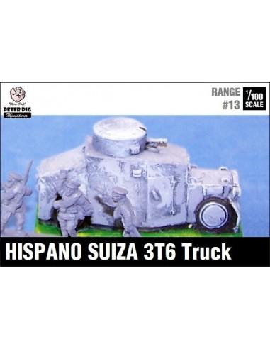 1/100 Blindado Hispano Suiza 3T6