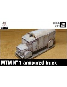 1/100 MTM Nº 1 armoured truck