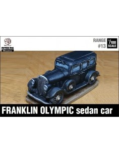 1/100 Franklin Olympic sedan car