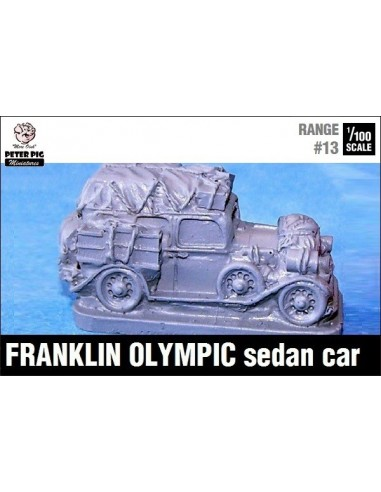 1/100 Franklin car with extra luggage