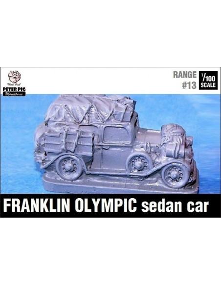 1/100 Automóvil Franklin sobrecargado