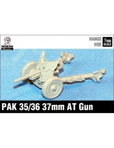15mm Cañón anticarro alemán de 37mm