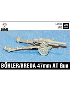 15mm Italian Boehler 47mm AT Gun