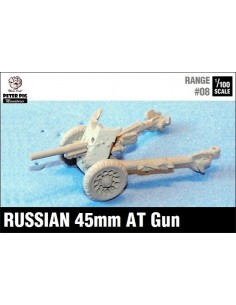 15mm Russian 45mm AT Gun