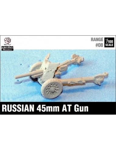 15mm Russian 45mm AT Gun