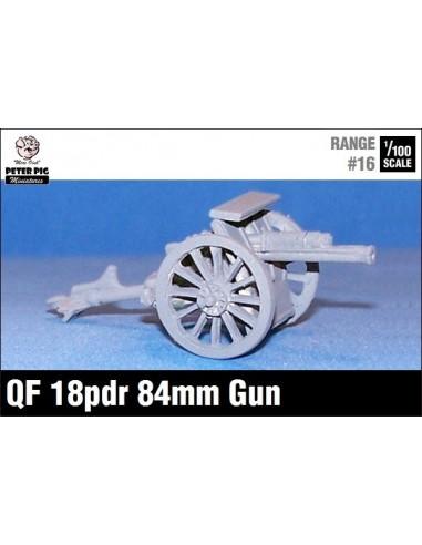 15mm QF 18-pdr gun