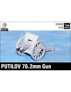 15mm Putilov 76.2mm field gun