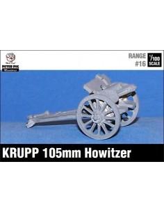 15mm German 105mm Howitzer