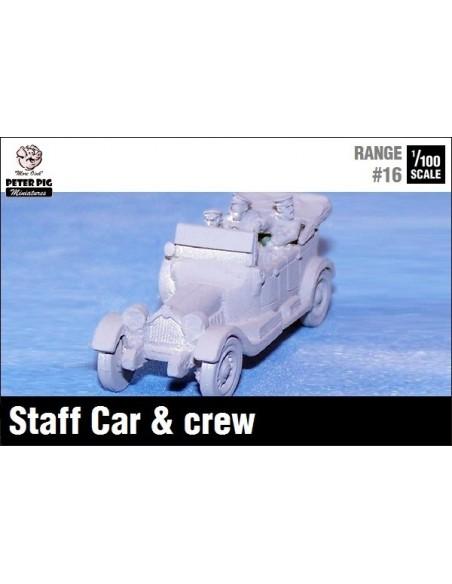 1/100 Staff or civilian car
