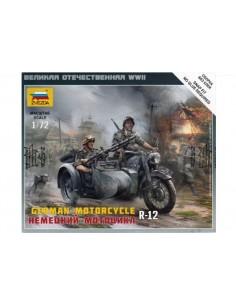 1/72 Motocicleta R-12 alemanya