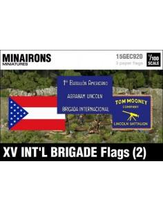 1/100 Banderas de la XV Brigada Internacional (2)