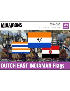 1/600 Dutch  East Indiaman flags