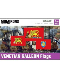 1/600 Venetian Galleon flags