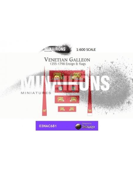 1/600 Pavelló de galió venecià