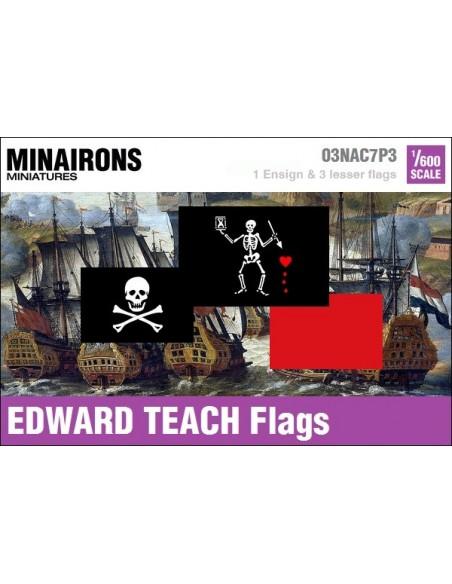 1/600 Pabellón pirata de Edward Teach