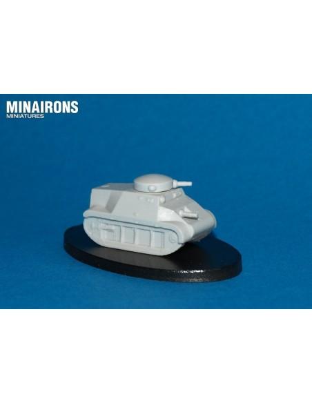 1/100 Tanc Trubia-Naval - Model sòlt