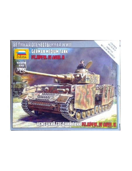 1/100 Panzer IV H - Caja de 1