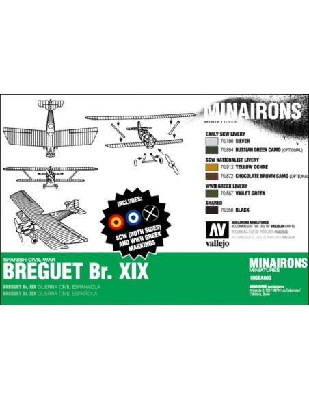 1/144 Breguet Br. XIX Bomber - Boxed kit