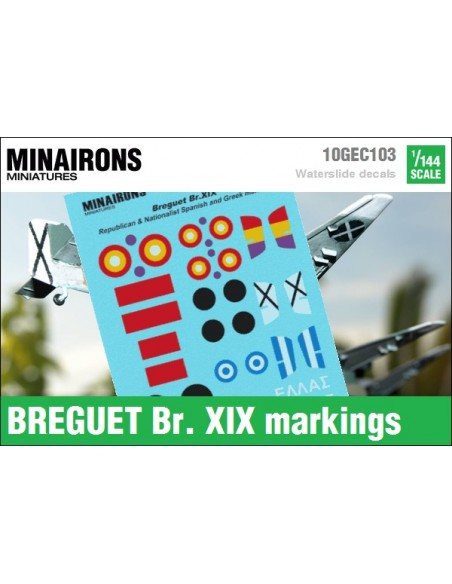 1/144 Breguet Br. XIX markings