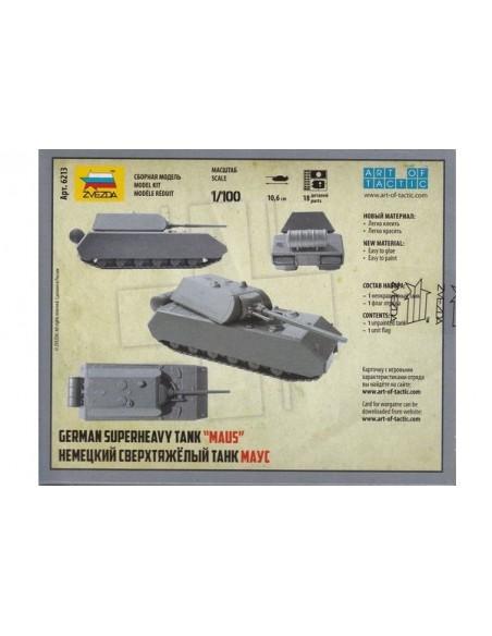1/100 Panzer VIII Maus - Capsa d'1