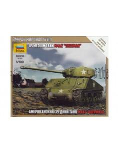 1/100 Carro M4A2 Sherman - Caja de 1